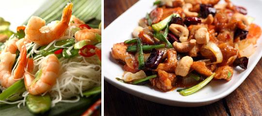 hoofdgerechten Simply Thai restaurant